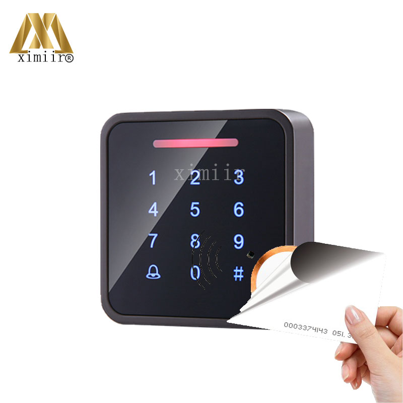 New Arrival Smart RFID Card Access Controller Standalone Door Access Control System Surface Waterproof Proximity Card Reader smart 13 56mhz mf ic card proximity card access control door opener rfid surface waterproof standalone access control system