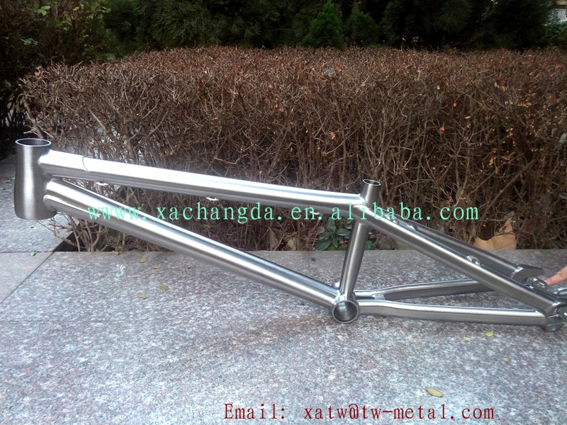 2017 nuevo diseño!! ti titanium bicicleta bmx cuadro de la bicicleta ...