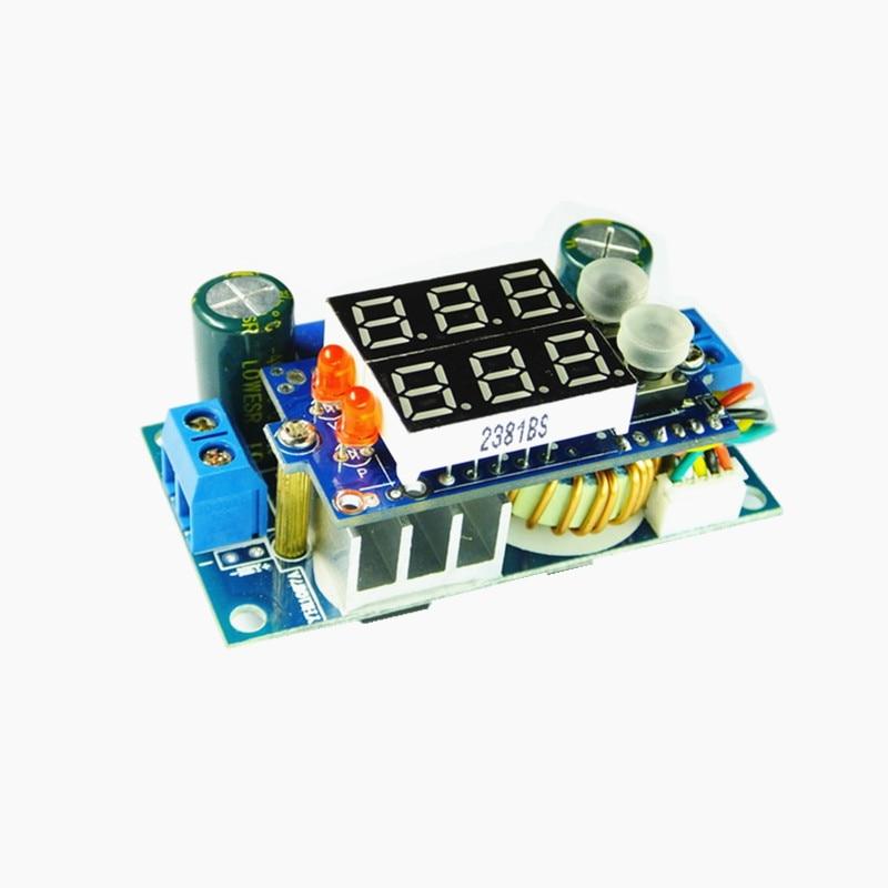 MPPT Solar Panel Controller 5A DC-DC Step-down CC//CV Charging Module LED Display