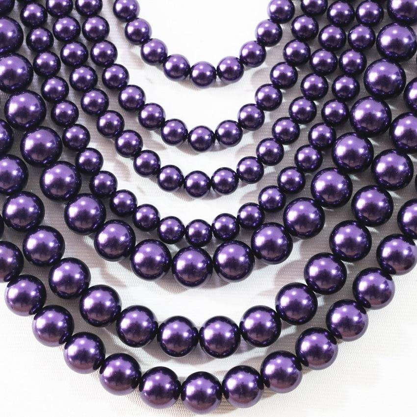 "New 8mm Round Black Onyx Gemstone Bead Necklace 50 /""Fashion  hk01"
