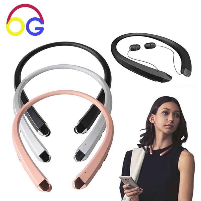 OGV HBS-910 fülhallgató Bluetooth vezeték nélküli fülhallgató Nyakpánt sport fejhallgató bluedio zajcsökkentő fülhallgató iphone xiaomi számára