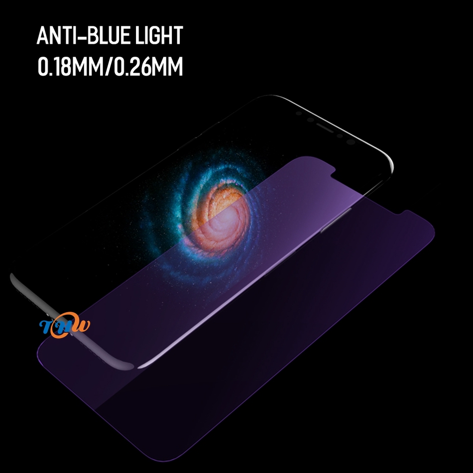 9h 0 26mm Anti Blue Light Tempered Glass Screen Protector