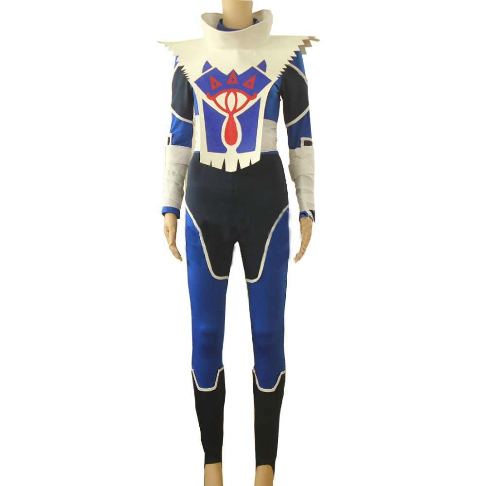 2018 zelda breath of the wild The Legend of Zelda Breath of the Wild Sheik Cosplay adult costume Custom Made full set