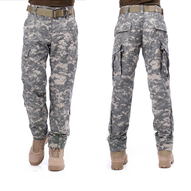 2017 War Game tactical pants camouflage cargo pants ACU US army military Pants trousers men hunting outdoor