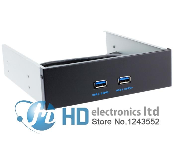 все цены на 20Pin Motherboard to USB 3.0 2 Ports Front Panel internal Bracket 4 5.25 онлайн