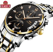 Hot Selling OLMECA Brand Clock 3ATM Waterproof Watches Military Watches Relogio Masculino Wrist Watch Fashion Watches for men все цены