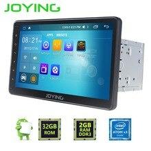"""Joying 2 GB RAM 10.1 """"2 Din Android Universal Car Stereo Radio Navegación GPS Android 6.0 Jefe Unidad de Reproductor Grabadora"""
