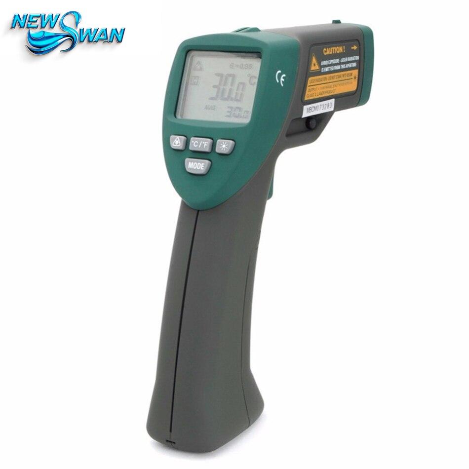 Mastech MS6530B Infrared Thermometer Handheld Temperature Laser Gun LCD Digital thermometer Diagnostic-tool -20~320C minipa et 988 et988 lcd handheld digital thermometer multimeter