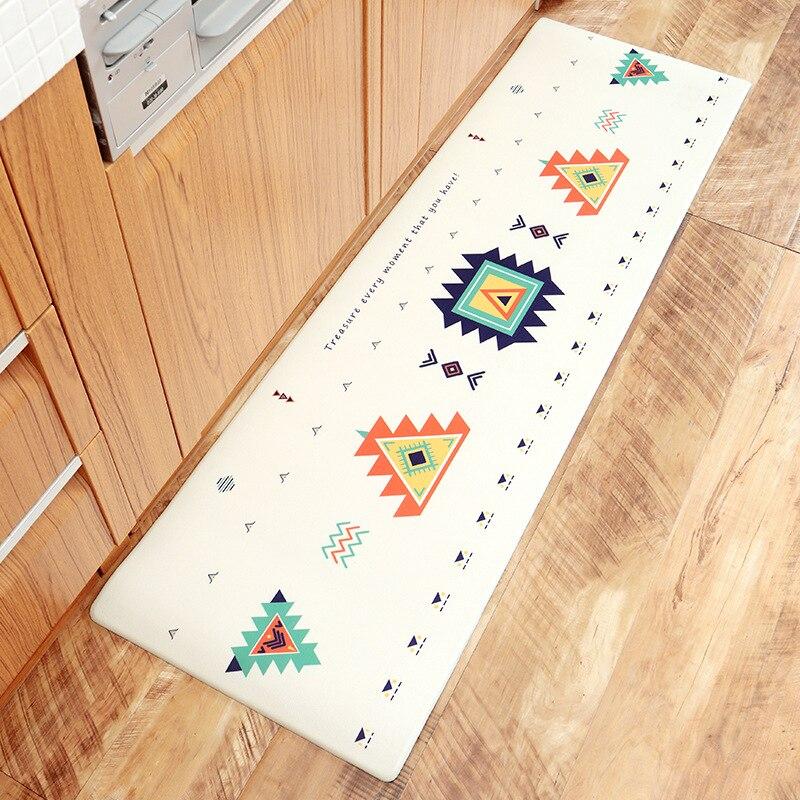 Zeegle tapis de cuisine PVC tapis de sol extérieur paillasson anti-dérapant Table basse tapis de cuisine tapis salon tapis chambre - 4