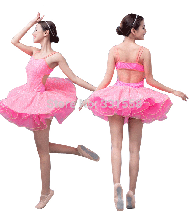 ChildAdult Pink Ballet Tutu With Sequins Performance Green Classical Dress Costumes For Girls In From Novelty Special Use On Aliexpress