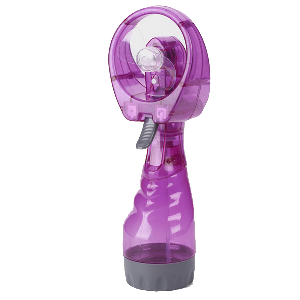 New Portable Hand held Cooling Cool Water Spray Misting Fan Mist Travel d90702(China)