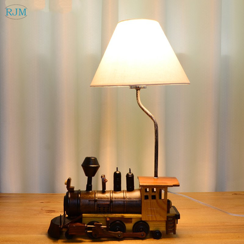 Bedroom Lamp Bedside Desk Resin