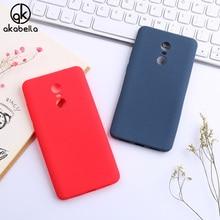 AKABEILA Scrub Back Cases For Xiaomi Redmi Note 4X 4 X Note4X 3G/32G 5.5 inch Covers Soft TPU Phone Bags Shell Skin