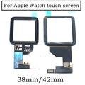 Оригинальный Новый Сапфир/Общие Сенсорный Экран Digitizer Для Apple Watch 38 мм 42 мм Сенсорный Сенсорная Панель Дигитайзер Запчастей