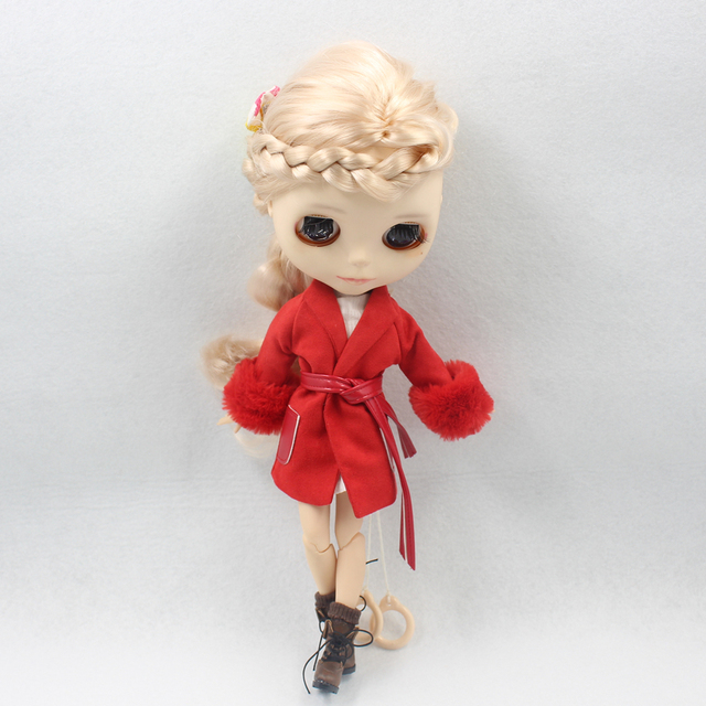 Neo Blythe Doll Leather Boots Four Color Options