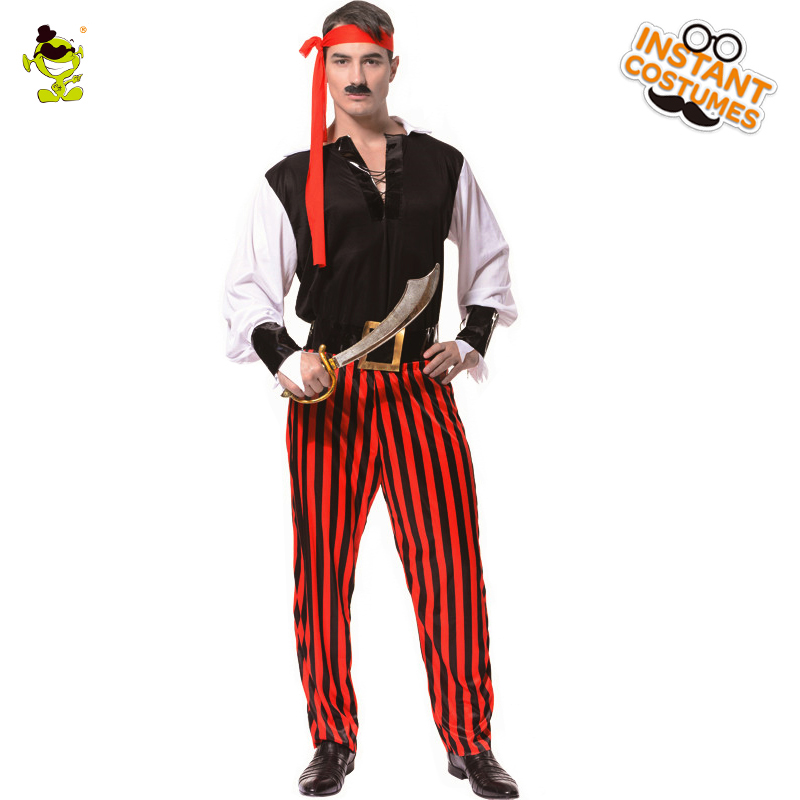 Man Cruel Pirate Man carnival costume Party clothing for man pirate costumes masquerade cosplay costumes