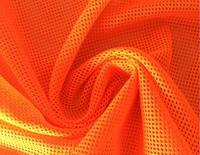 155cm*10yards Fluorescent Orang 4 Way Stretch Mesh Fabric Dresses Clothing Shoes Lining Material