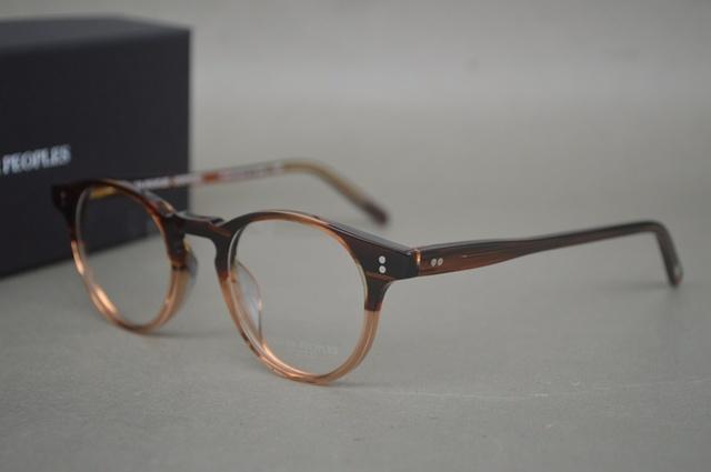 Oculos de grau Senhor O oliver pessoas ov5183 'malley miopia óptico Quadro Óculos De leitura Do Vintage Dos Homens/Mulheres Óculos de armação