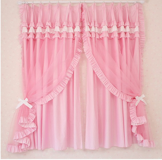 Princess Girls Room Valance Cutains Amazom: High Grade Marriage Room Curtain Curtain Of The Bedroom Of