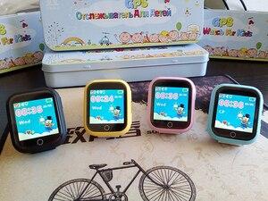 Image 5 - Twox gpsスマート腕時計Q750 Q100 gw200sベビータッチスクリーンとのsosコール位置デバイス子供の安全なpk Q50
