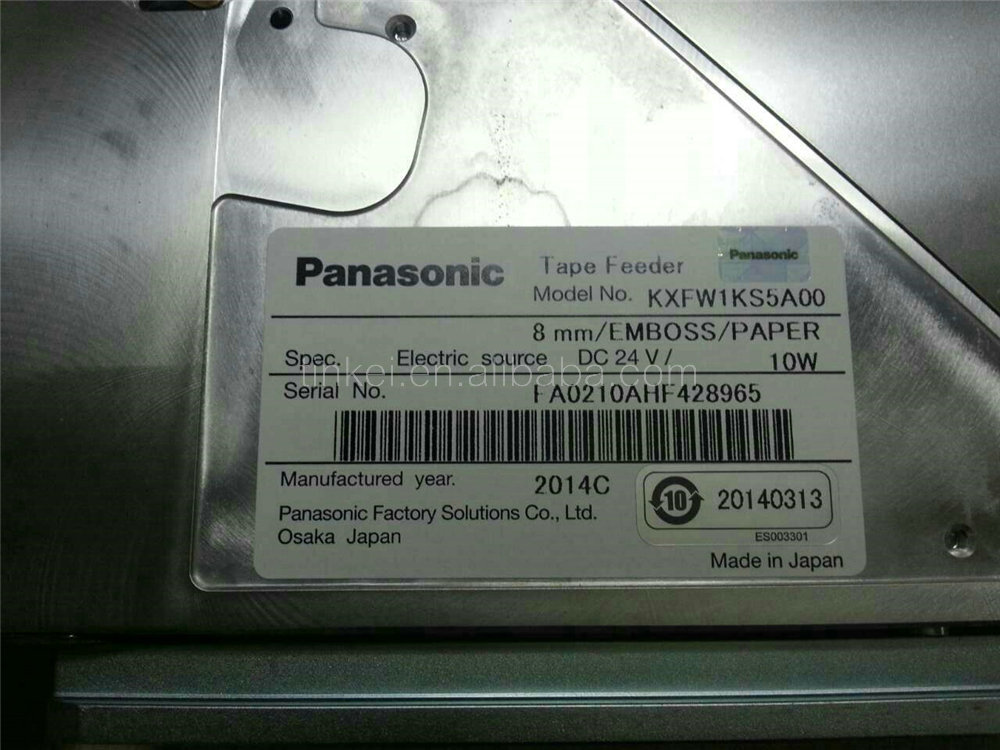 KXFW1KS5A00 8mm smt feeder without sensor for panasonic smt pick and place machine original new brand new smt yamaha feeder ft 8 4mm feeder used in pick and place machine