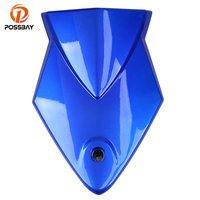 POSSBAY Motorcycle Rear Passenger Seat Cowl Cover Pad fit for BMW S1000RR 2009 2014 09 10 11 12 13 14 Motorbike Seat Cover Cowl