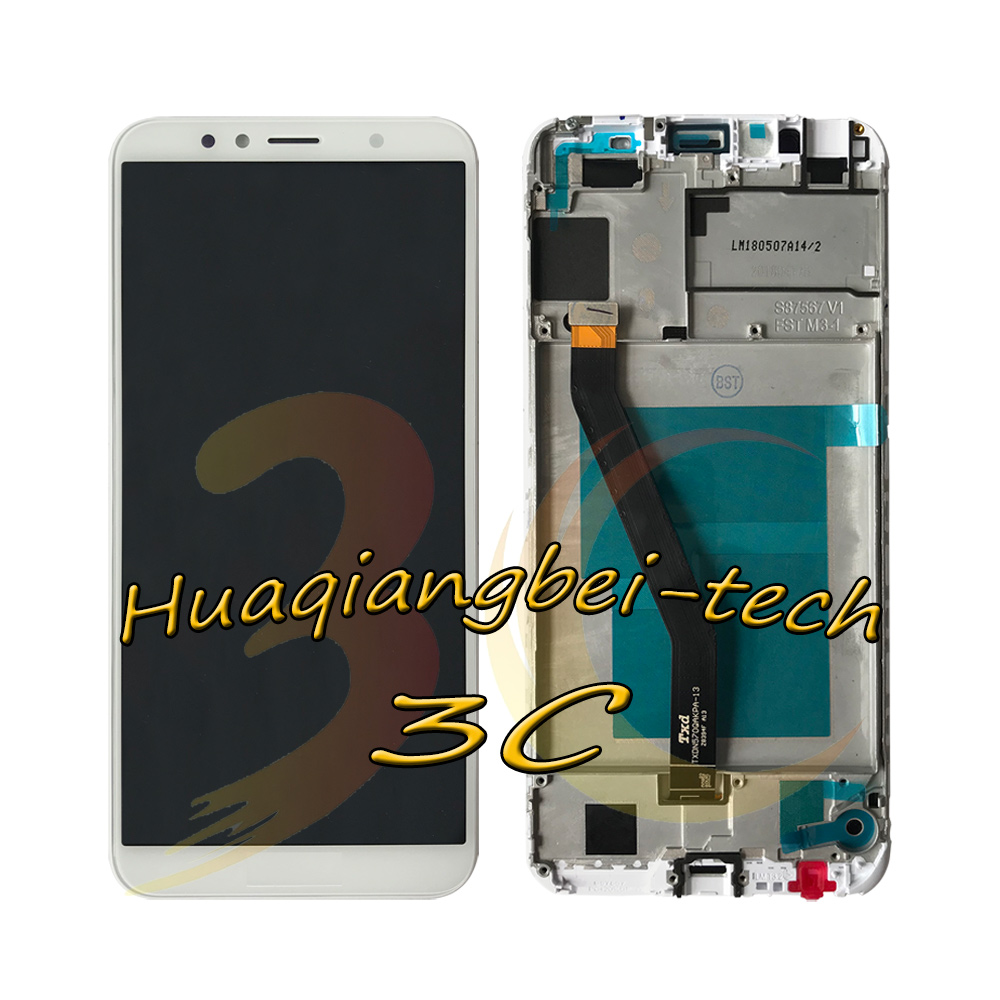 5.7'' New For Huawei Honor 7C AUM-L41 Full LCD DIsplay + Touch Screen Digitizer Assembly + Frame Cover 100% Tested