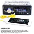 Высокое Качество 2033 Автомобилей Радио Аудио Стерео Fm SD MP3 плеер AUX-IN USB с 12 В Пульт Дистанционного Управления для Автомобиля Аудио Радио