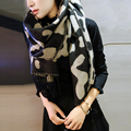 Cathy Woods Winter Scarf for Women Brand Cashmere Animal Leopard Printed Blanket Scarf Shawl Feminino Scarves and Stoles Foulard