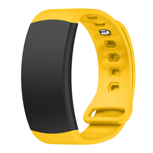 Image 3 - Watch band 2017 Luxury sport Silicone Watch Replacement wrist Band bracelet Strap For Samsung Gear Fit 2 SM R360 watch Wristband