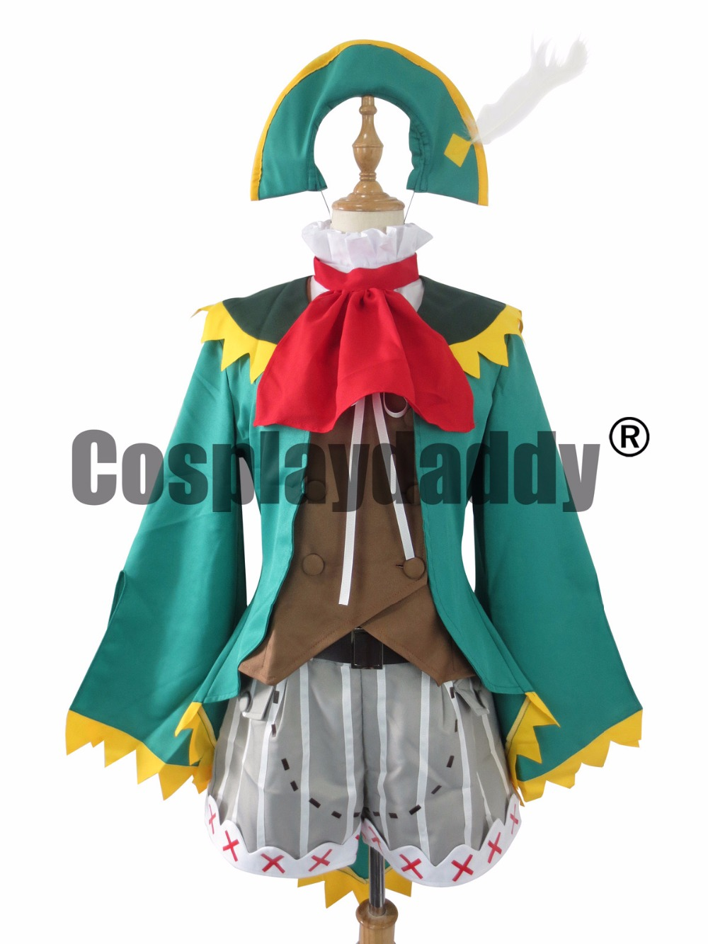 monster hunter 4 guildmarm sophia green outfit cosplay costume c018