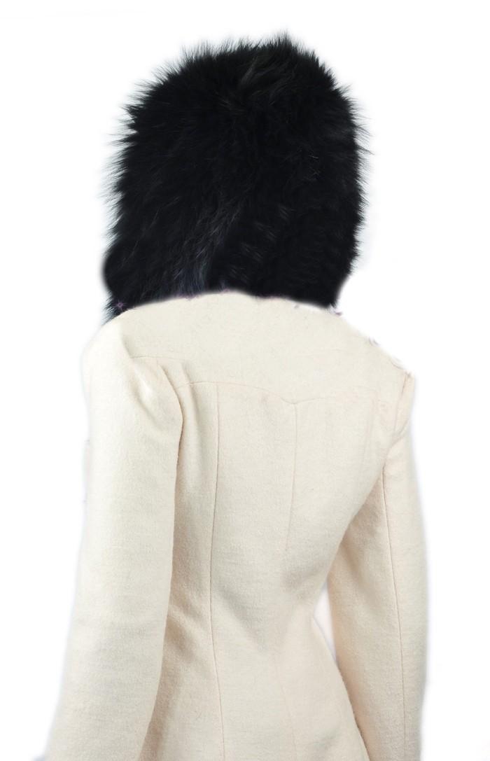 natural scarves tassel hooded 16