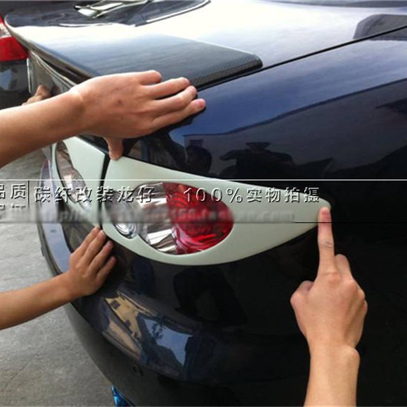 For Mazda 6 Sedan 2002-2011 unpainted fiberglass Rear Tail Light Cover Trim ...