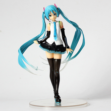 DOWIN 20cm Hatsune Miku ATSHNE MIKU V4X Painted 1/8 Scale PVC Figure Collectible Model Toy -16%