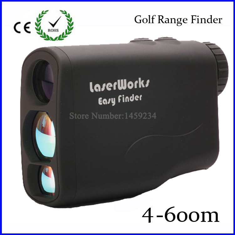 Free shipping 6X21 Golf laser range finder Meter font b Rangefinder b font measure laser speed