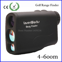 Free shipping 6X21 Golf laser range finder Meter Rangefinder measure laser speed tester monocular meter telescope 600m hunting