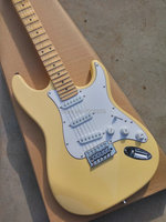 Hot sale st electric guitar.scalloped maple fingerboard.factory direct Chinese guitar