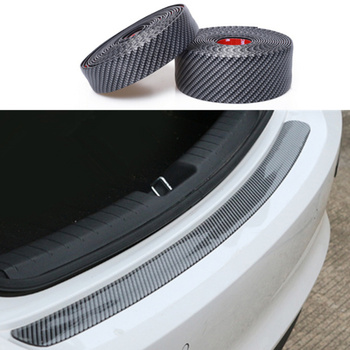 Car Bumper Door Sill Protector Edge Guard Car Styling Accessories for Subaru XV Forester Outback Legacy Impreza XV BRZ Tribeca image
