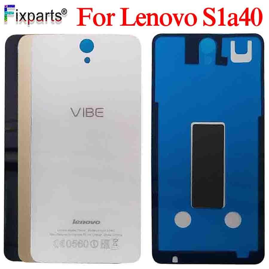 Original Housing For Lenovo Vibe S1 Battery Cover Hosing S1 Battery Cover For Lenovo S1a40 Back Cover With Glue