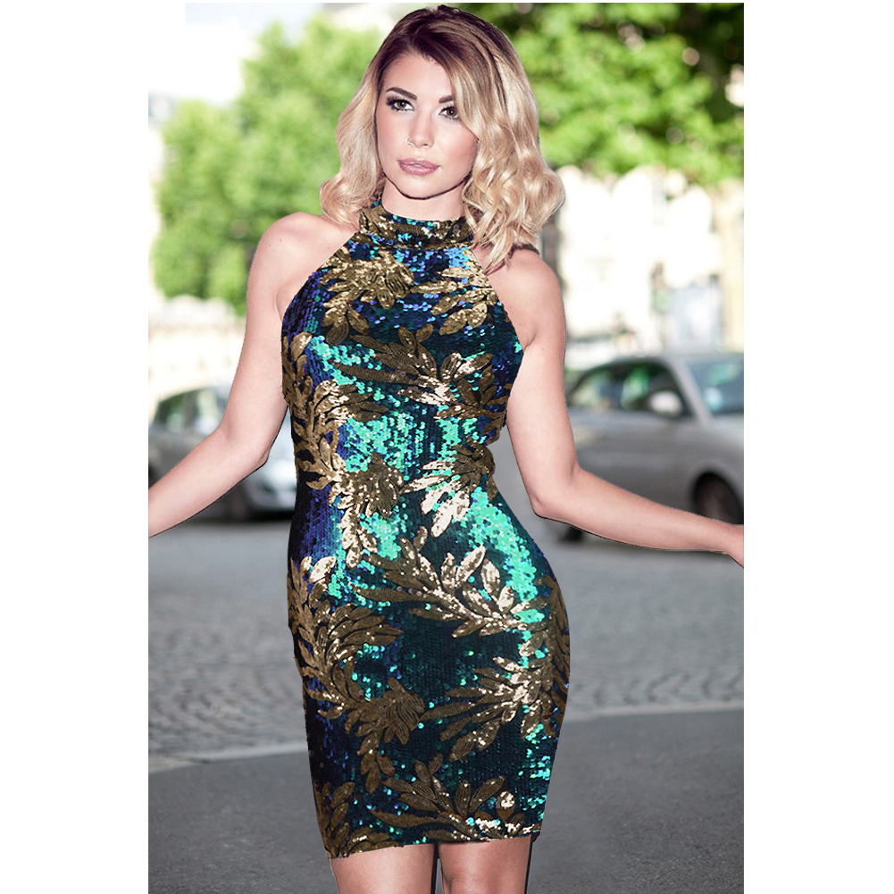 Compare Prices on Green Gold Dress- Online Shopping/Buy Low Price ...