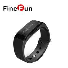Finefun Для мужчин Для женщин модные спортивные Умные часы L28t открытый Фитнес часы LED Дисплей напоминание Digital Smart Band