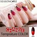 Мода Изменение Температуры Цвет ногтей гель для ногтей УФ-Гель Лак Для Ногтей Длительный Soak Off Гель Лак Для Ногтей