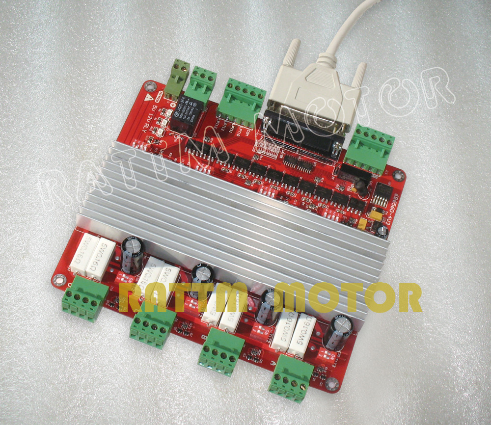 Buy 4 Axis Tb6560 Stepper Motor Driver