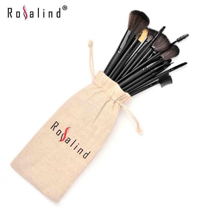 Rosalind Professional Makeup Tools Black Makeup Brushes15