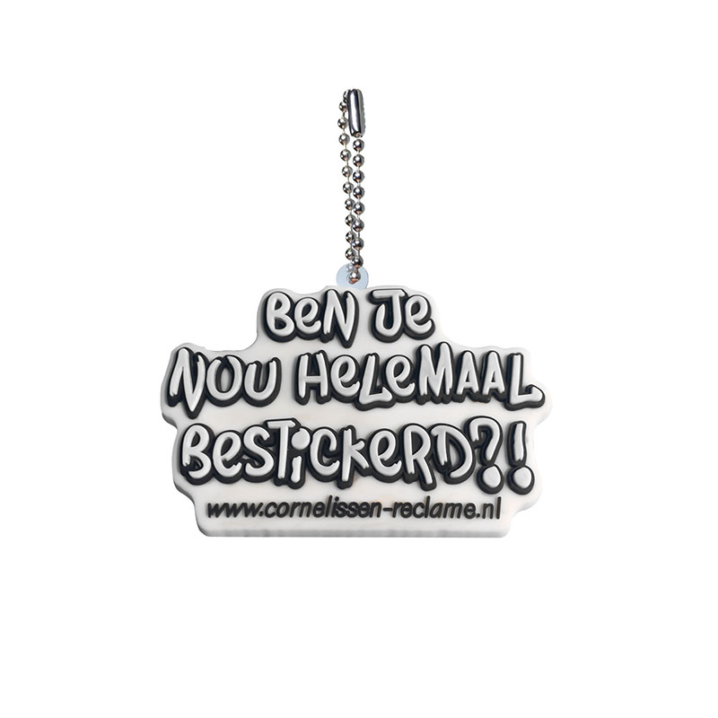 Image 5 - Personalized Customization PVC Ball Chain Key chains Your Own Design Business Logo Custom Design Metal Ball chain for wholesale-in Key Chains from Jewelry & Accessories