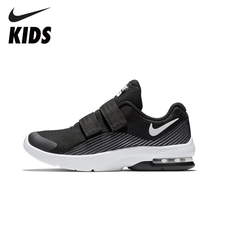 NIKE Kids Official NIKE KidsAIR MAX ADVANTAGE2 (PSV) Toddler Kids Breathable Sports Shoes Outdoor Sneakers AO8735 nike nike fuelband sports bracelet battery cover green m