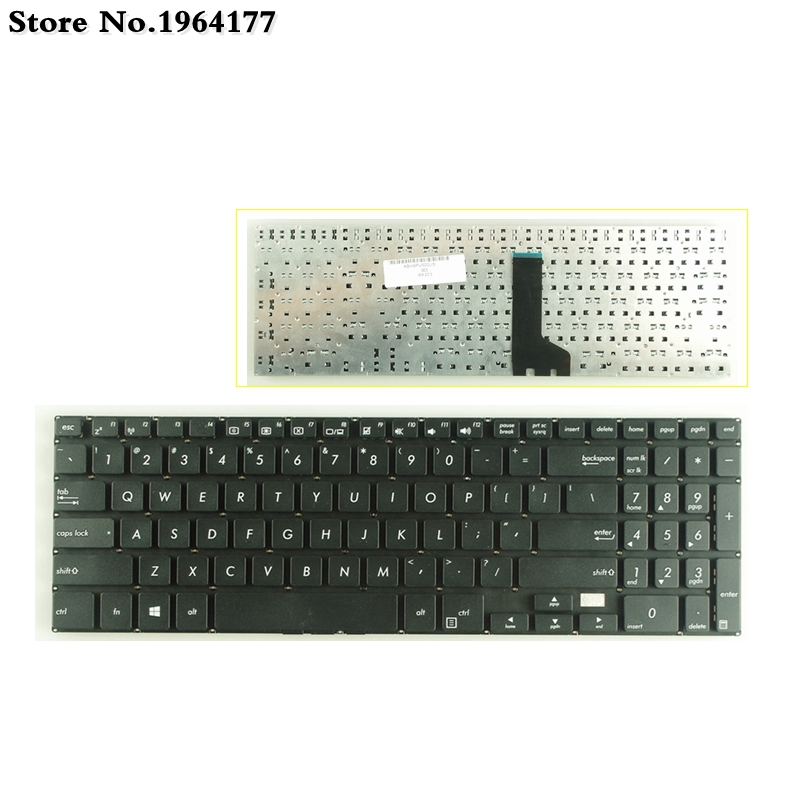 US Laptop Keyboard For ASUS P500 P500CA E500 E500CA PU500 PU551 PRO551L PRO551LD Black New English