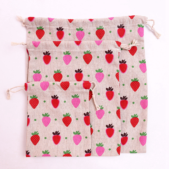 Kawaii Pink Cosmetic Bag