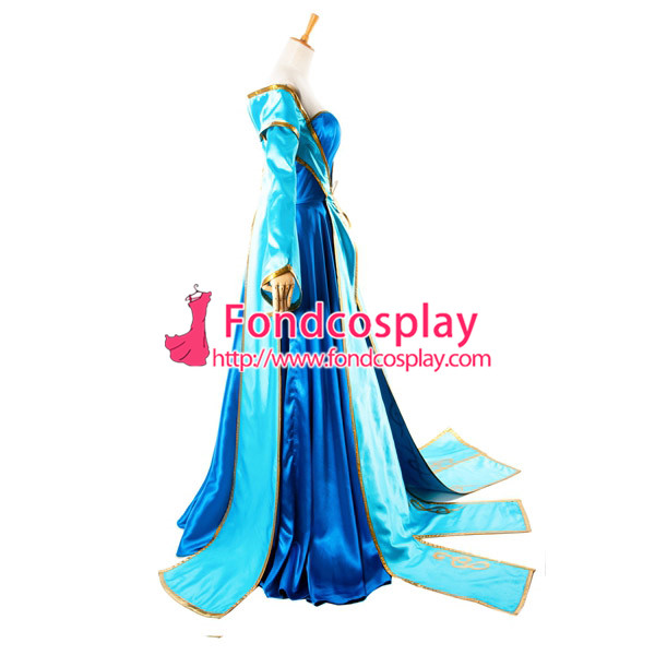 Lol Sona Maven du jeu de robe de cordes Costume Cosplay sur mesure [G933] - 4