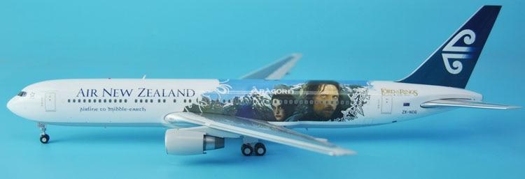 ФОТО fine jc wings 1: 200 xx2861 air new zealand b767-300 lotr coating collection model